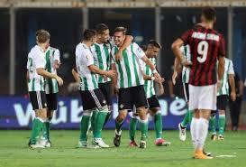 Prediksi Real Betis vs Milan 9 November 2018